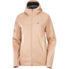 Salomon GTX WS Softshell jakke Damer, beige